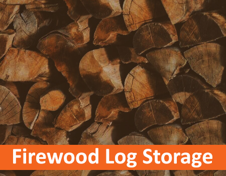 Firewood Log Storage