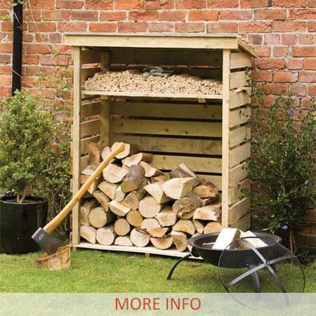 Firewood Log Storage Page