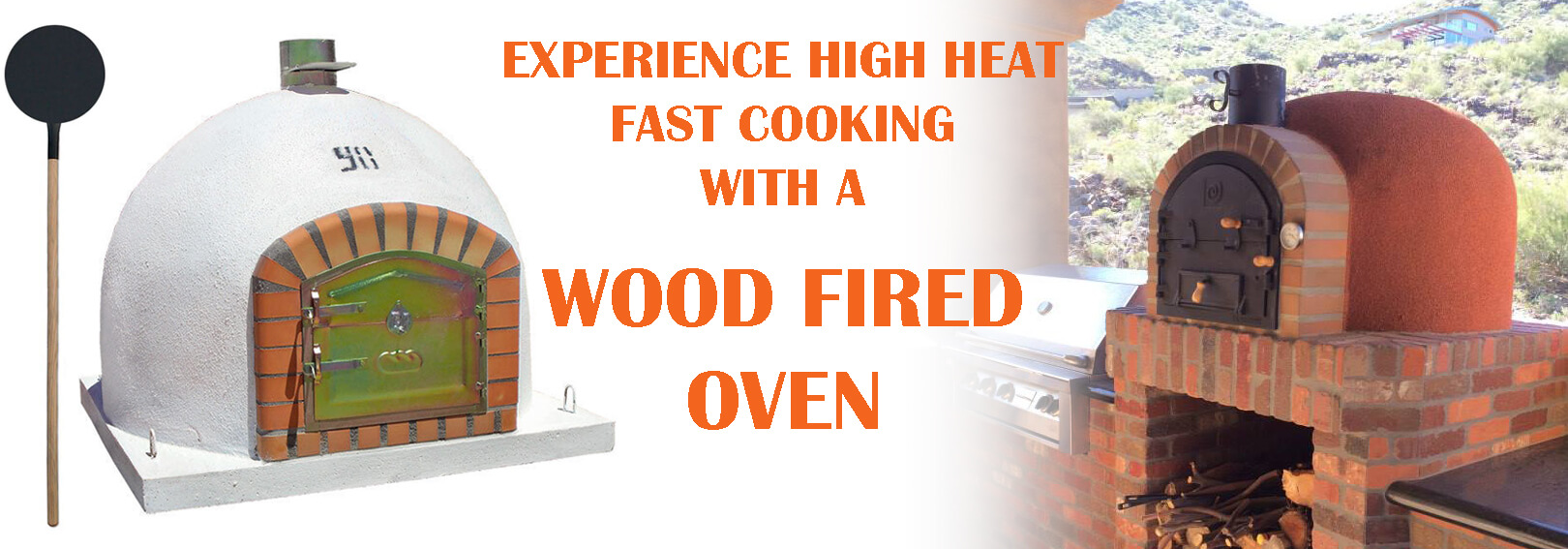 Our Wood Fired Ovens are Hand Crafted and will withstand incredibly high temperatures ideal for outdoor cooking in your garden.