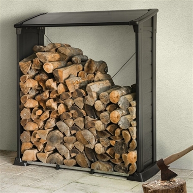 Easy Assemble Fire Wood Log Store