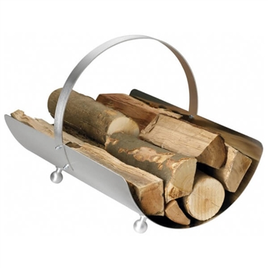 Stainless Steel Log Basket