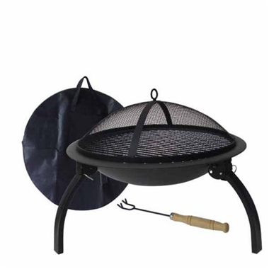 Portable Fire Pit Lucio Folding Fire Bowl