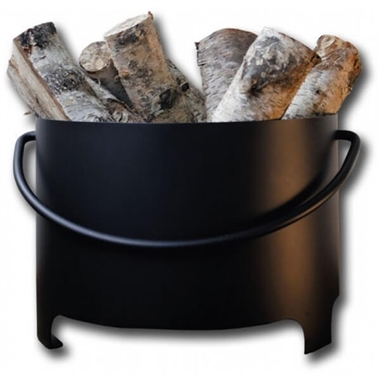 Traditional Firewood Log Bucket